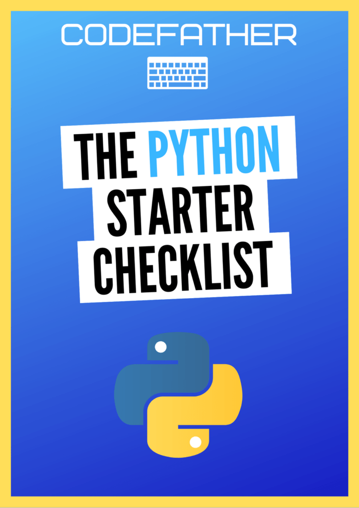 The Python Starter Checklist
