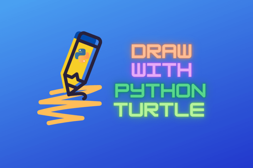 Draw with Python Turtle
