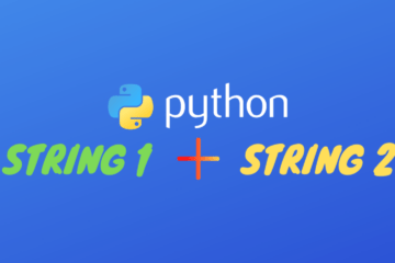 Python Concatenate Strings
